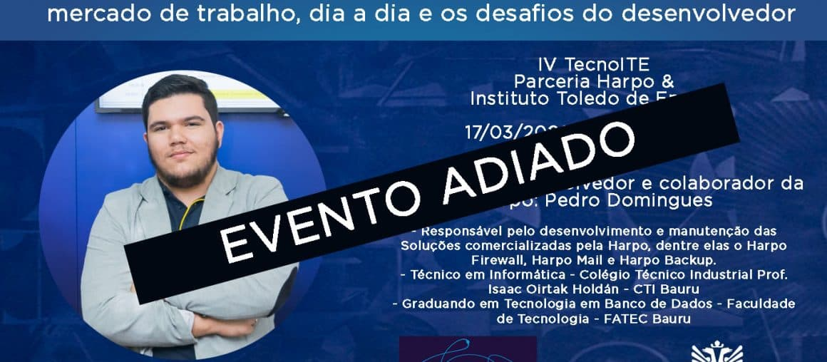 TecnoITE : Harpo participa de debate no Dia do Profissional de Sistemas de Informação